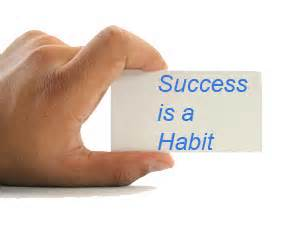 success is a habit image